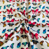 100% Cotton Digital Fabric Bright Butterflies Butterfly 150cm Wide