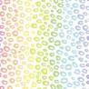 100% Cotton Digital Fabric Pastel Rainbow Leopard Skin 150cm Wide