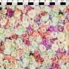 100% Cotton Digital Fabric Pastel Roses Floral Flowers 150cm Wide