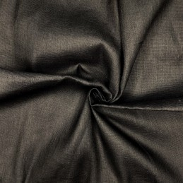 Premium Coloured Muslin Fabric 100% Cotton Draping Cheese Cloth Material Black