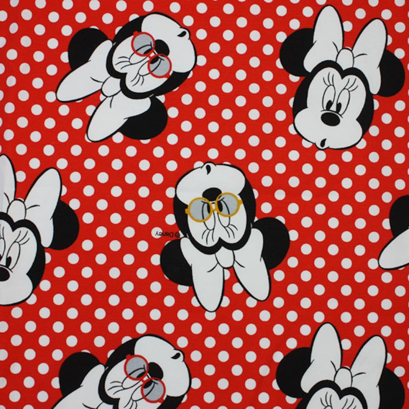 Cotton Jersey Fabric Disney...