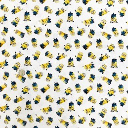 100% Cotton Digital Fabric Minions Despicable Me Dreamworks Novelty 150cm Wide