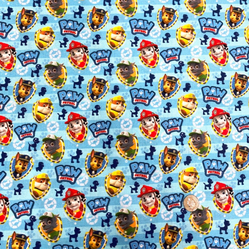 Paw Patrol Fabric 100/% Cotton