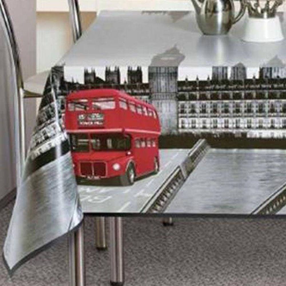 PVC Vinyl Tablecloth London...