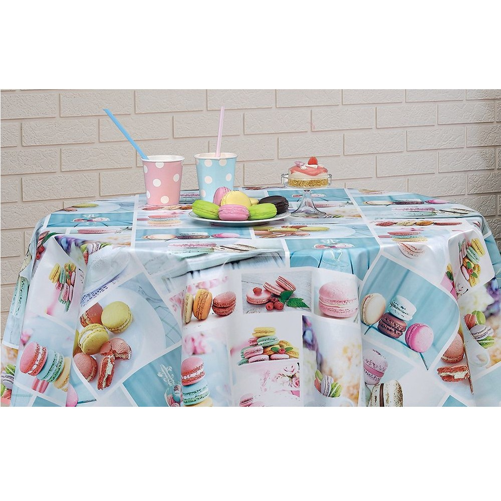 PVC Vinyl Tablecloth...