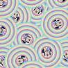 100% Cotton Digital Fabric Disney Minnie Mouse Bubble 150cm Wide