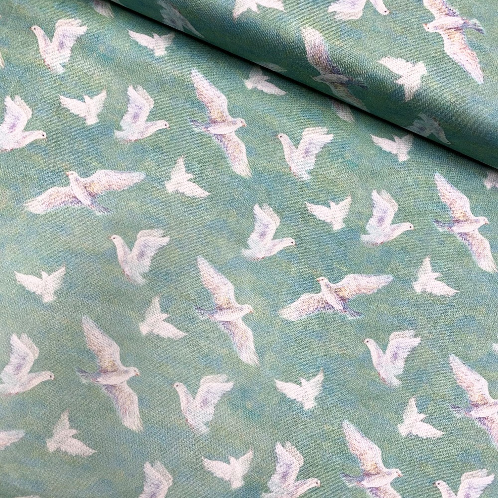 100% Cotton Fabric Flying...