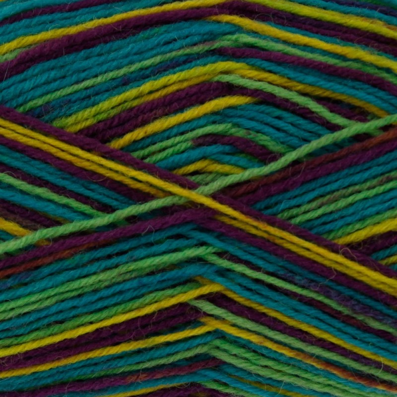 King Cole Zig Zag 4 Ply Knitting Yarn Craft Wool Socks 100g Ball Jester