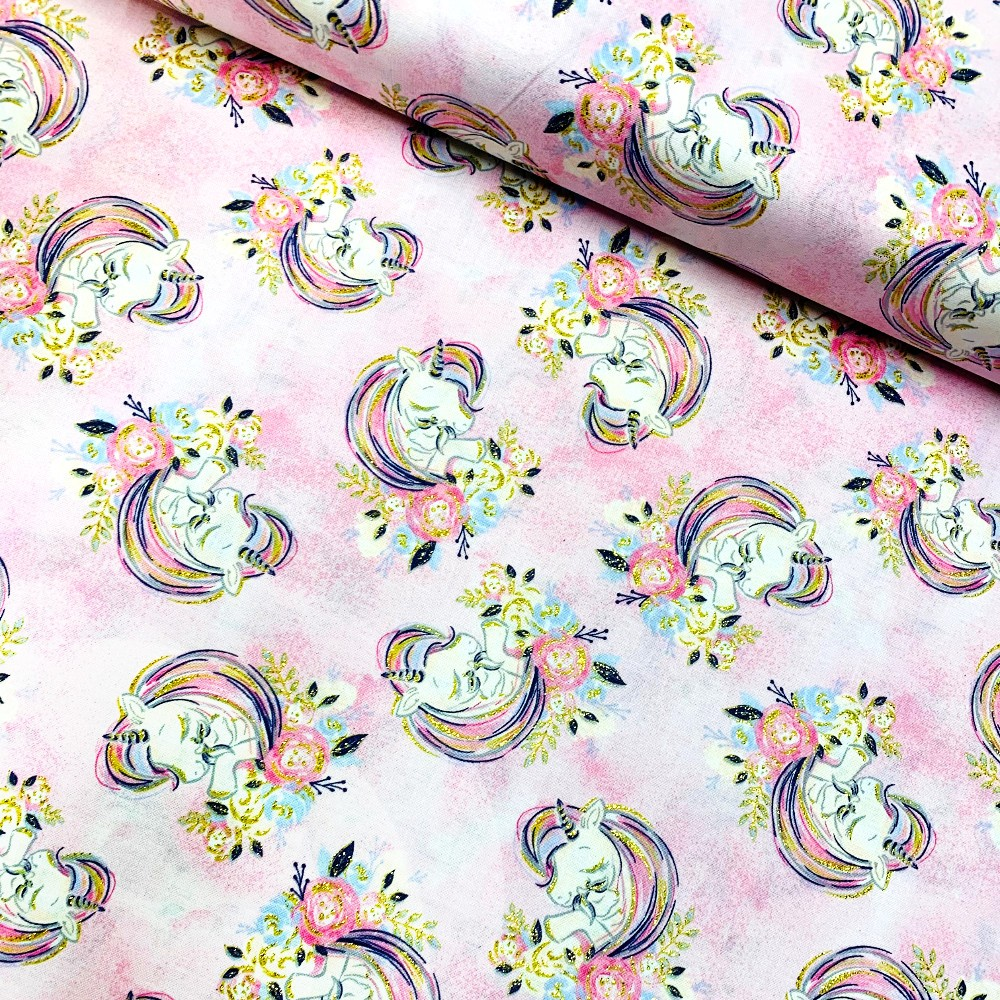 100% Cotton Fabric Pretty...