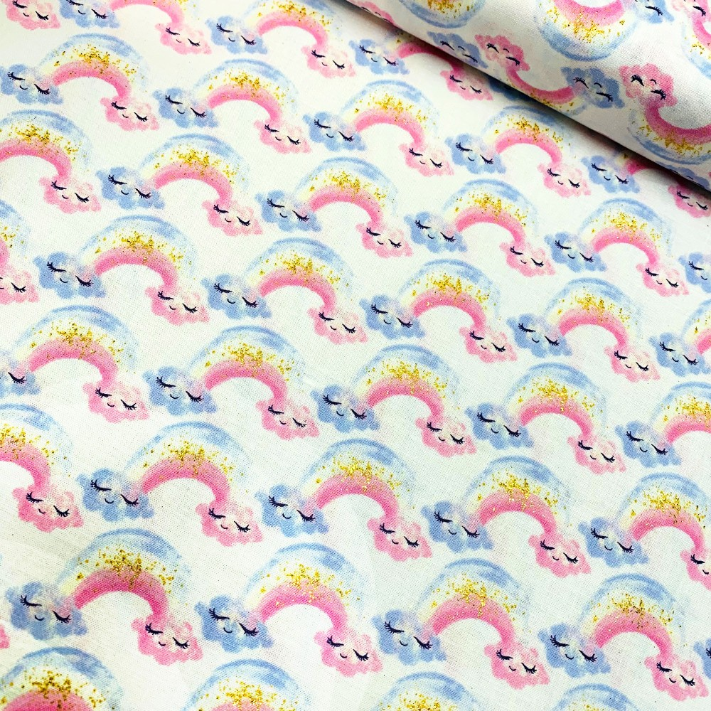100% Cotton Fabric Cute...