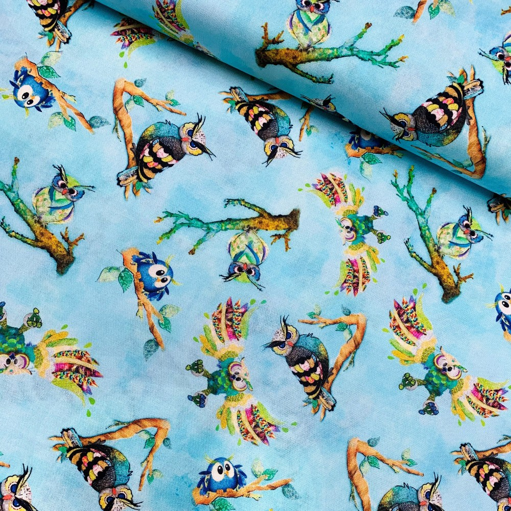 100% Cotton Fabric Funny...