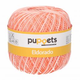 Puppets Eldorado No.10 Variegated 100% Cotton Crochet / Knitting Yarn Thread 50g Ball
