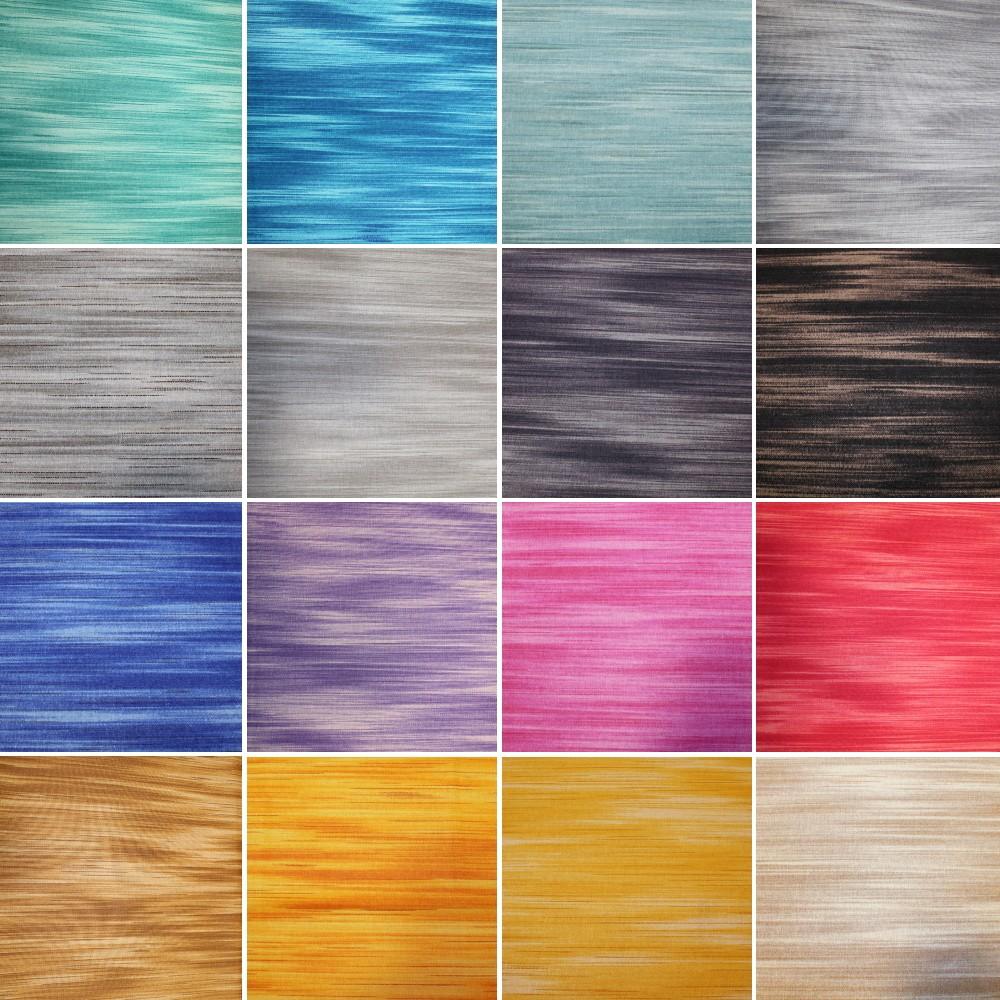 100% Cotton Fabric Veneer Blender Watercolour Gradient Stripes Patchwork Pink