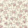 100% Cotton Poplin Fabric Rose & Hubble Leon Street Flower Petals Floral
