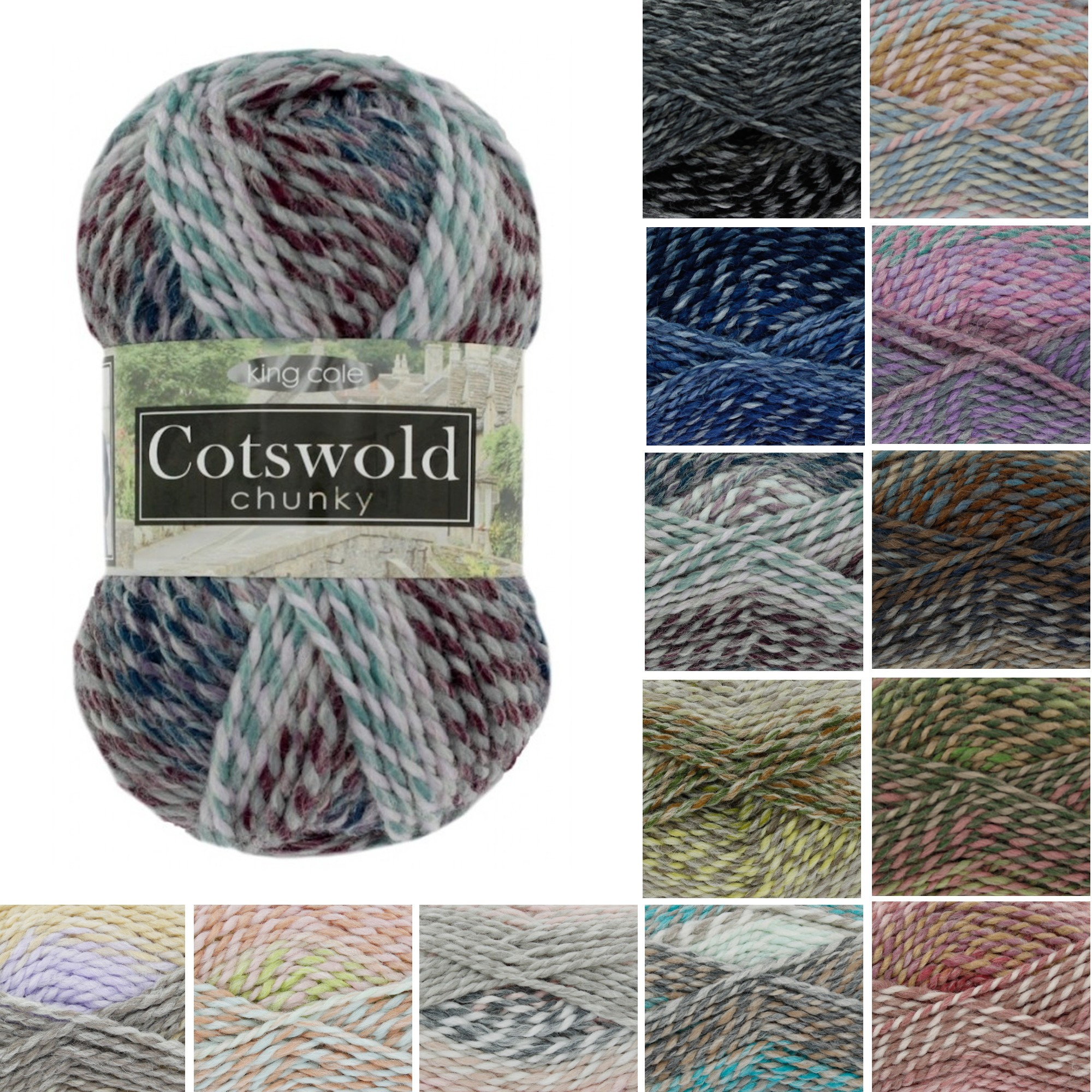 king cole cotswold chunky northleach