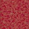 100% Cotton Fabric John Louden Christmas Holly Berries Mistletoe