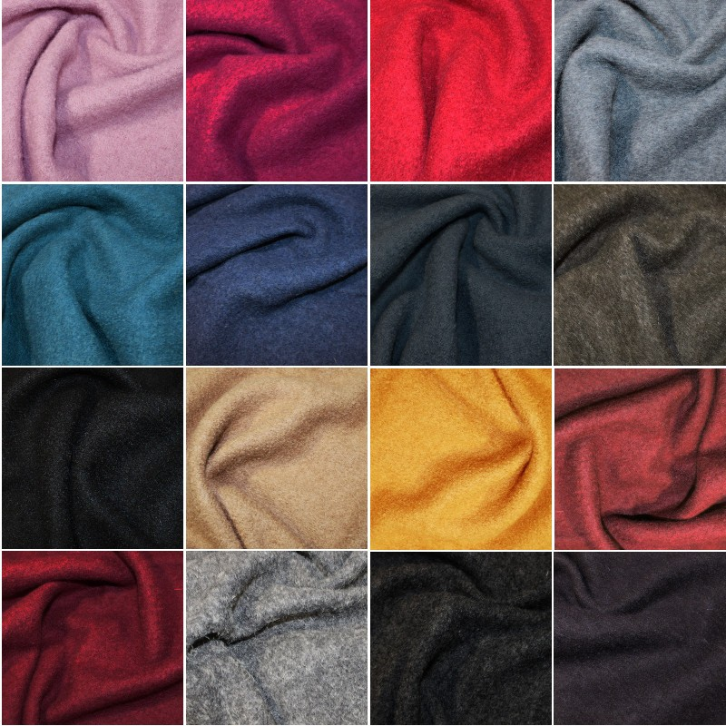 100% Boiled Wool Fabric...