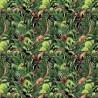 100% Cotton Digital Fabric Jurassic Jungle Dinosaurs Crafty 140cm Wide