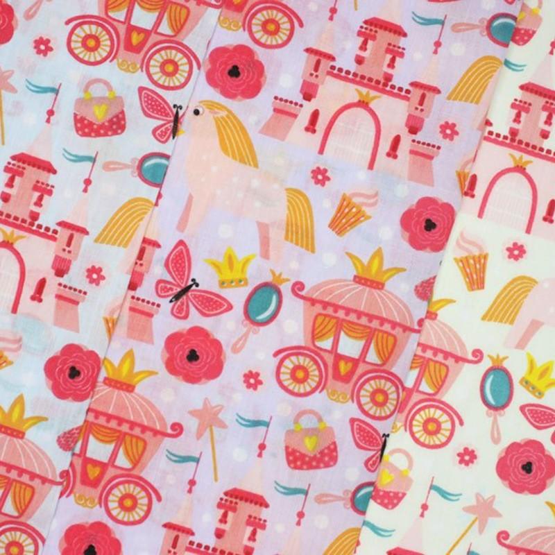 Polycotton Fabric Girls...