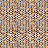 100% Cotton Digital Fabric Footballs On Fire Soccer Goal Crafty 140cm Wide