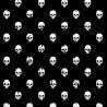 100% Cotton Digital Fabric Broken Skulls Halloween 140cm Wide