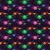 100% Cotton Digital Fabric Cartoon Monster Spiders Halloween 140cm Wide