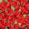 100% Cotton Fabric Timeless Treasures Roses Flowers Love Valentines Romance