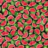 100% Cotton Fabric Timeless Treasures Bunched Sliced Watermelons