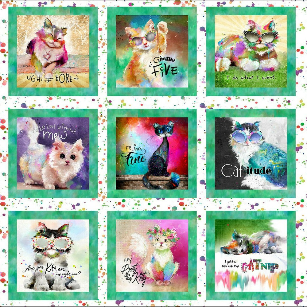 100% Cotton Fabric 3 Wishes...