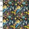 100% Cotton Fabric John Louden Sea Creatures Mermaids Fish Animals Ocean