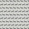Cotton Rich Linen Look Fabric Safari Zebra In Rows Upholstery