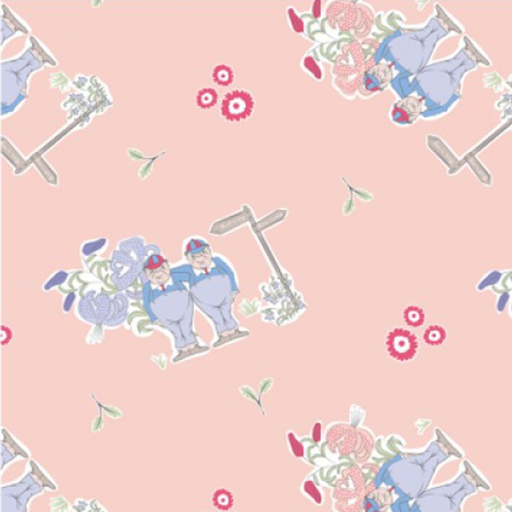 100% Cotton Fabric Alice In...