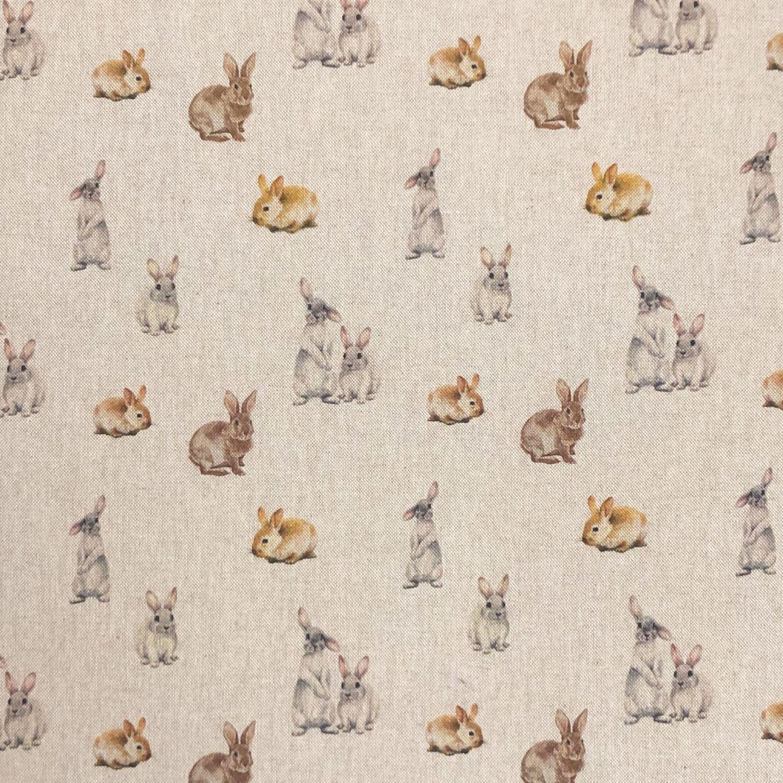 Cotton Rich Linen Look...