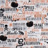 100% Cotton Fabric Quilting Treasures Halloween Potions Spells Pumpkin Snakes