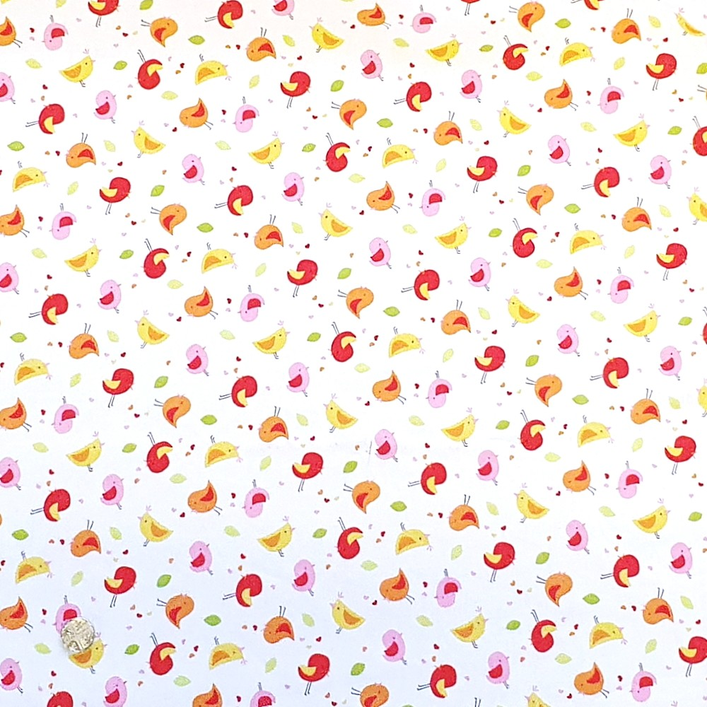100% Cotton Fabric Tiny...