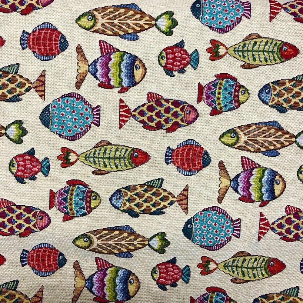 Tapestry Fabric Fish...