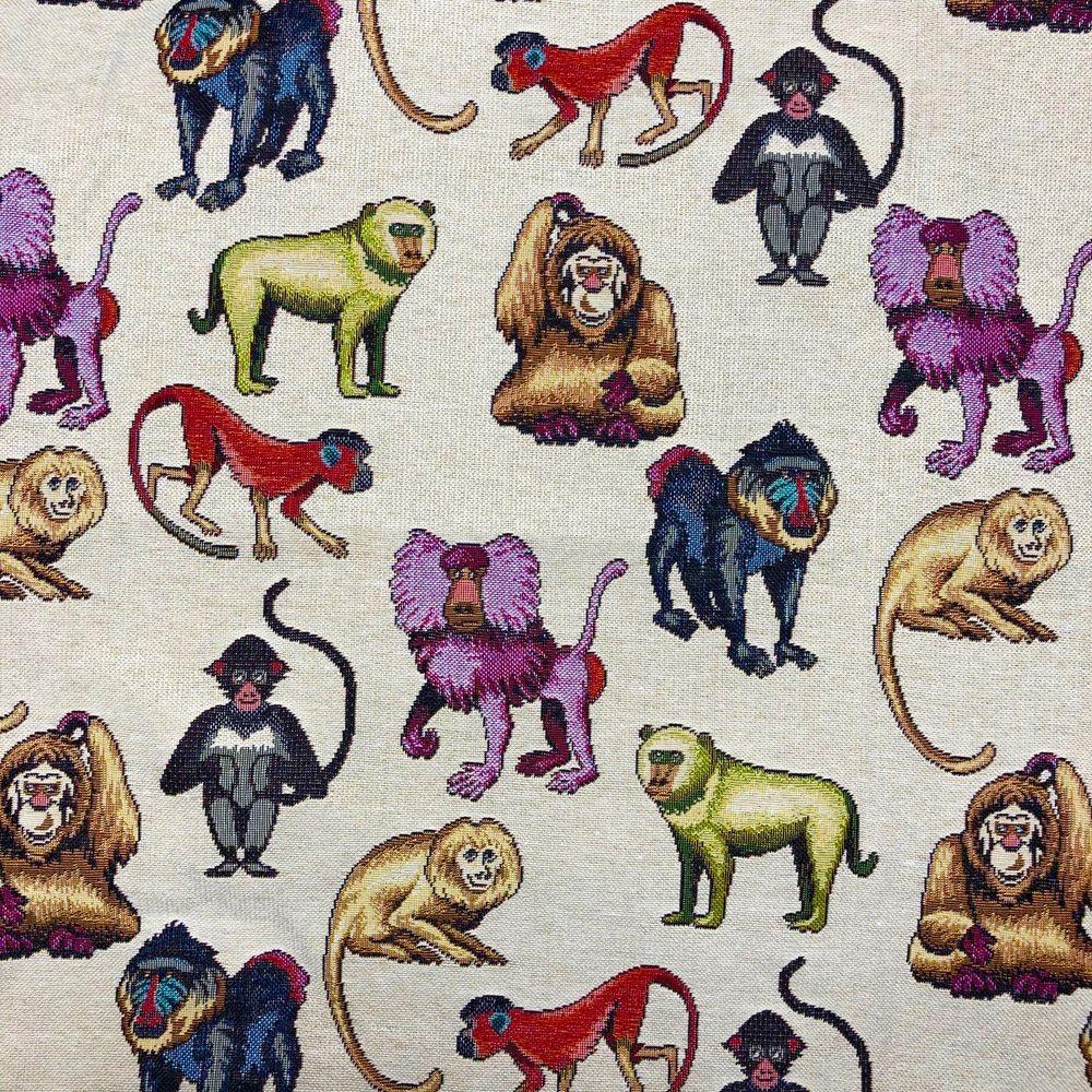 Tapestry Fabric Monkeys...