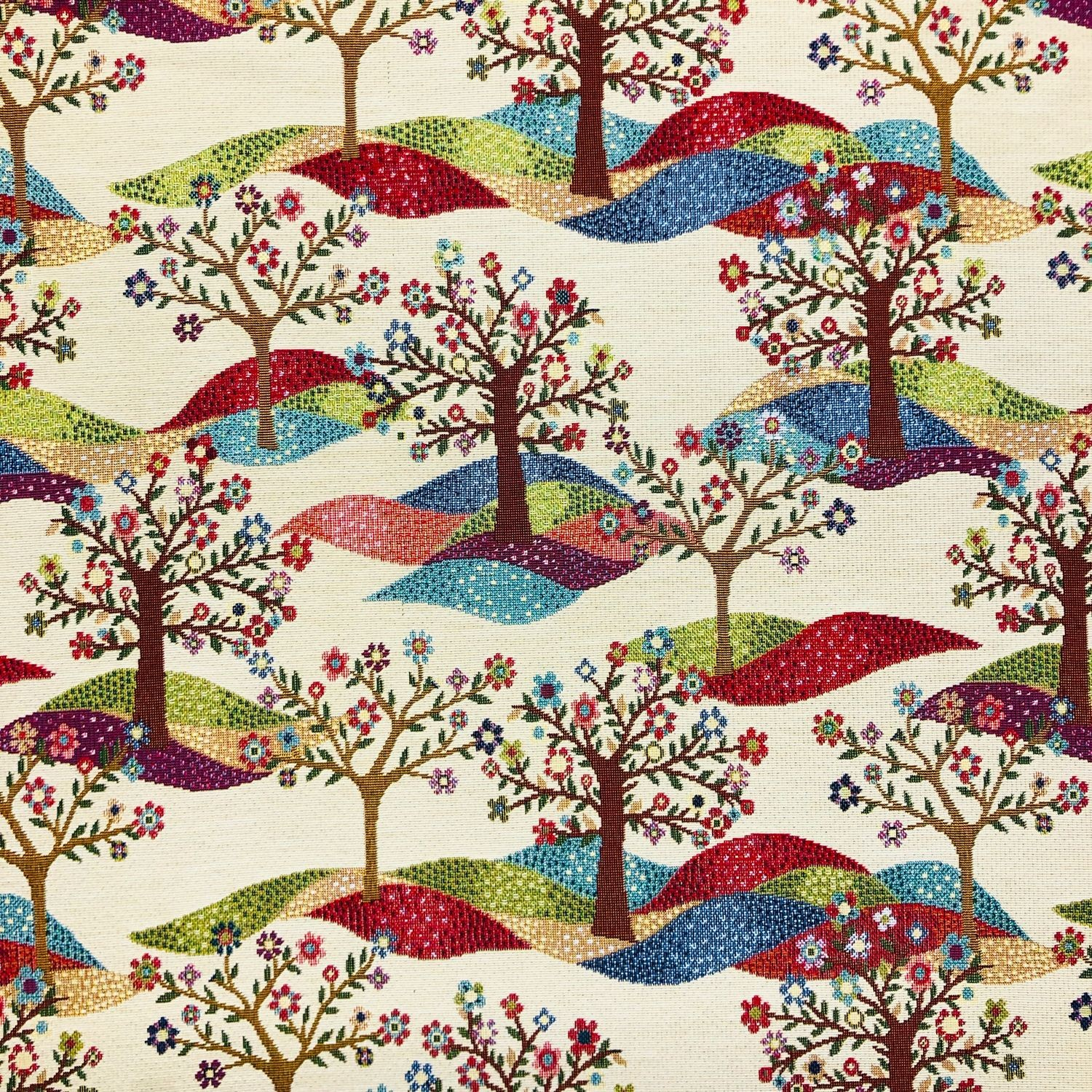 Tapestry Fabric Tree Of...