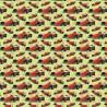 100% Cotton Digital Fabric Oh Sew Formula 1 Racing Cars Helmets 140cm Wide