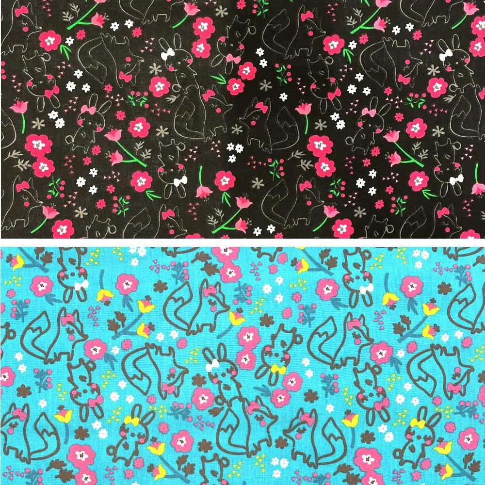 Polycotton Fabric Hidden...