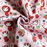 100% Cotton Fabric Digital Little Johnny Range Hello Kitty Cats Kawaii