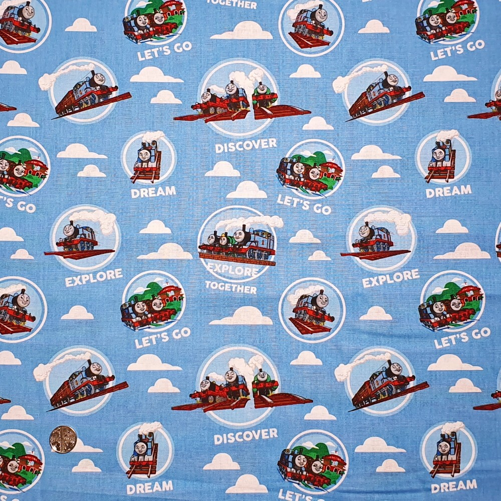 100% Cotton Fabric Thomas &...