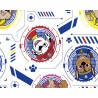 100% Cotton Digital Fabric Paw Patrol Faces Dogs 150cm Wide