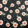 100% Cotton Poplin Fabric Floral Flowers Spots Leaves Sowdley Lane 145cm Wide