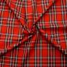 Polycotton Fabric Tartan Royal Stewart Check Patriotic Scottish Kilt 145cm Wide