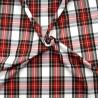 Polycotton Fabric Tartan Dress Stewart Check Patriotic Scottish Kilt 145cm Wide