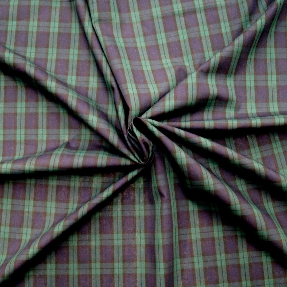 Polycotton Fabric Tartan...