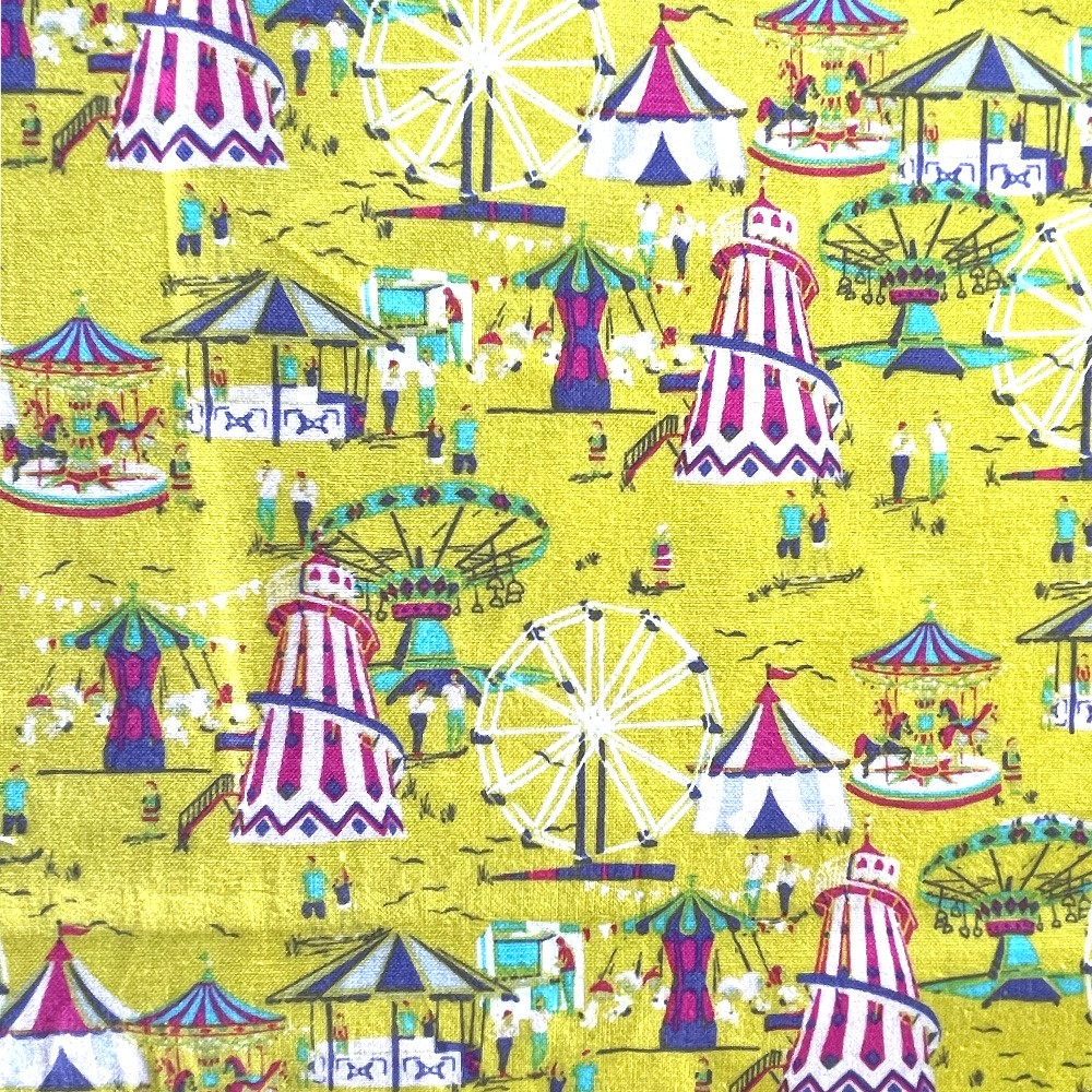 100% Cotton Fabric Inprint...