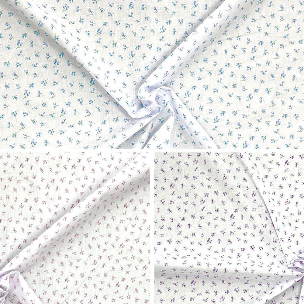 Polycotton Fabric Ditsy...