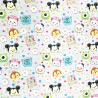 100% Cotton Fabric Springs Creative Disney Pixar Character Mini Mouse Kids